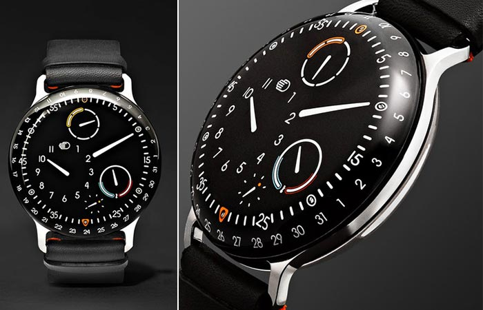 Two different views of the Ressence Type 3
