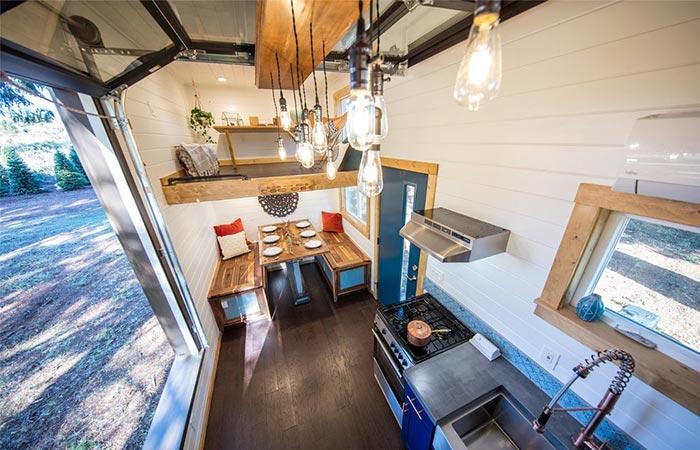 Tiny Heirloom House Interior
