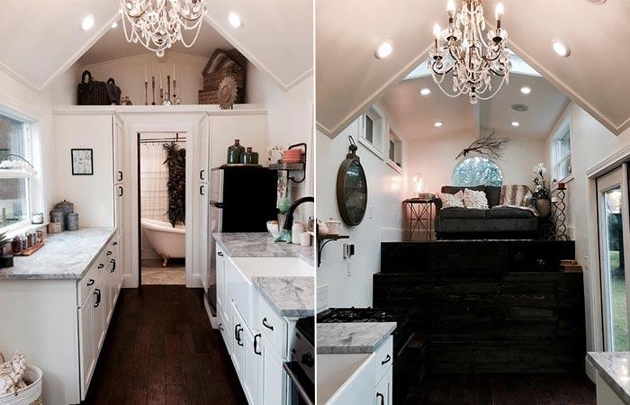 Tiny Heirloom Vintage Glam House Interior