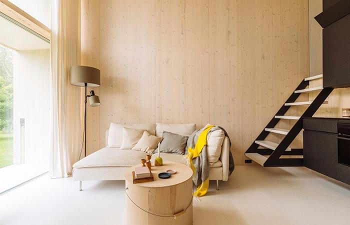 Koda Concrete Micro Home Interior