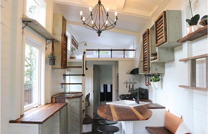 Tiny Getaway Home Interior