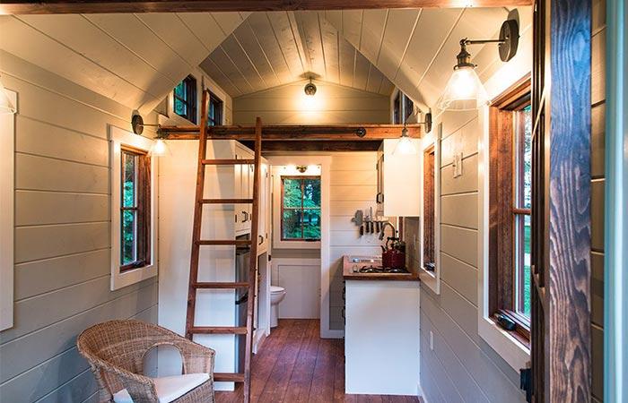 Timbercraft Tiny Homes Interior