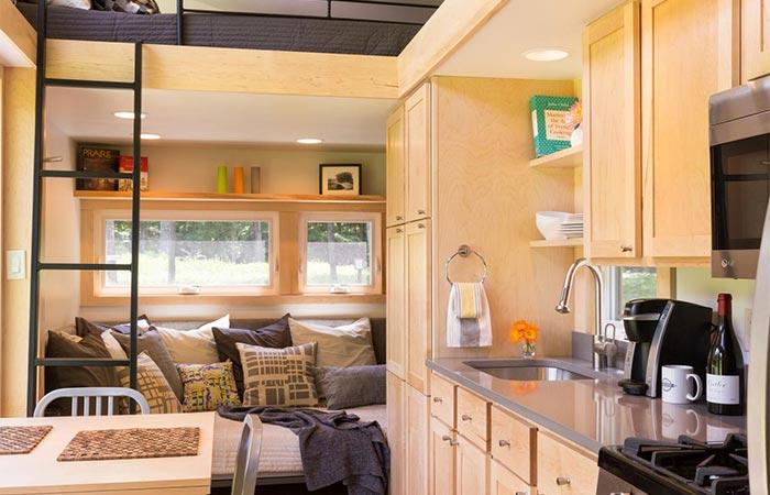 Traveler Tiny Home Interior