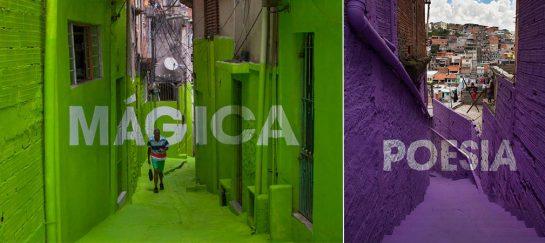 Art Collective Boa Mistura Transforms Sao Paulo Favelas