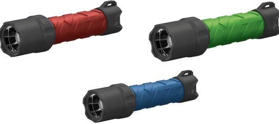 Coast Polysteel Rechargeable Waterproof Flashlight
