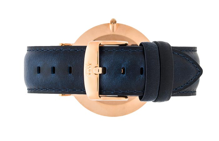 Rear view of the Daniel Wellington Classic Somerset Watch