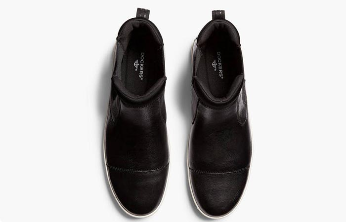 Top view of the EFM X Dockers Chelsea Boot