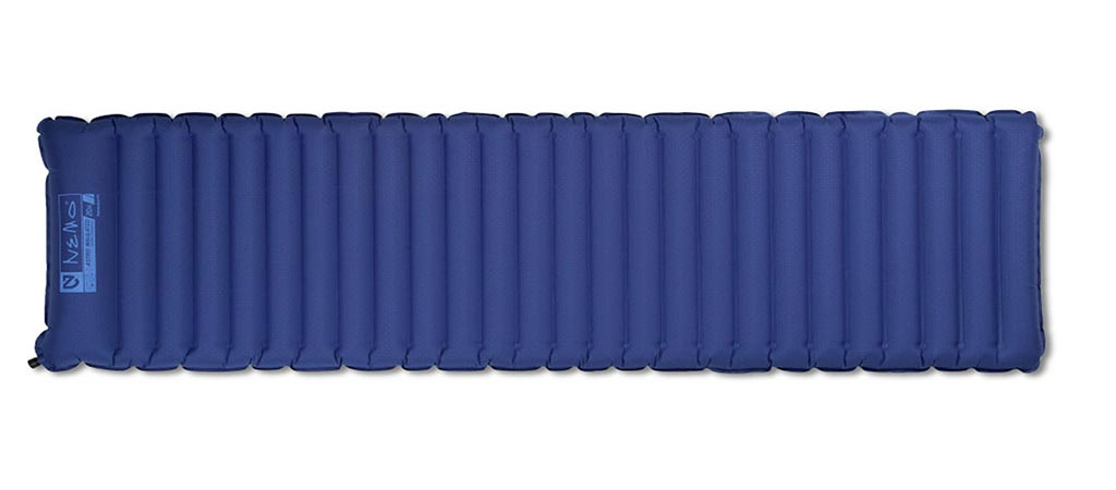 Nemo Astro Insulated Sleeping Pad lengthwise