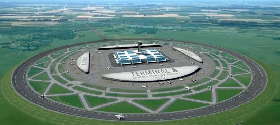 New Circular Runway Concept For Airports
