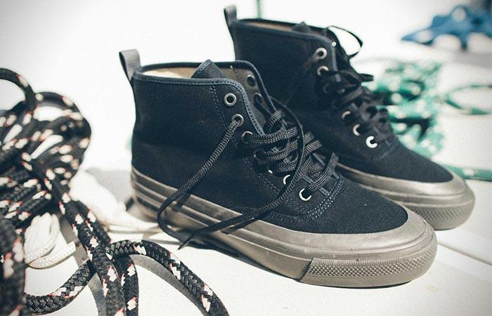 blue sneaker boots