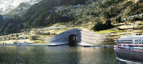 Architecture Studio Snøhetta Designs The First Ship Tunnel In The World