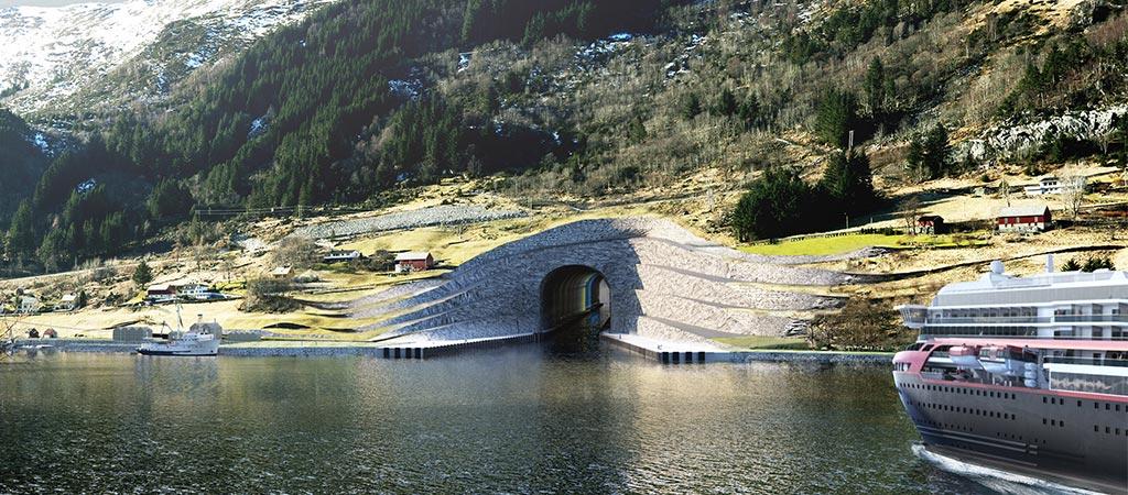Architecture Studio Snøhetta Designs The First Ship Tunnel In The World