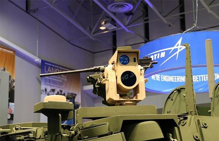 MEHEL Laser on a Stryker