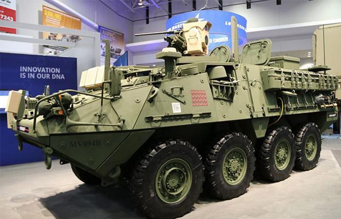 Stryker with MEHEL System