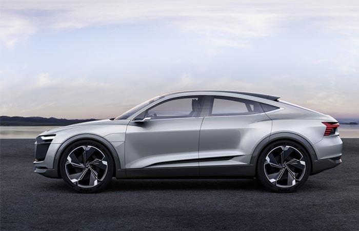Audi E-Tron Sportback Concept side view