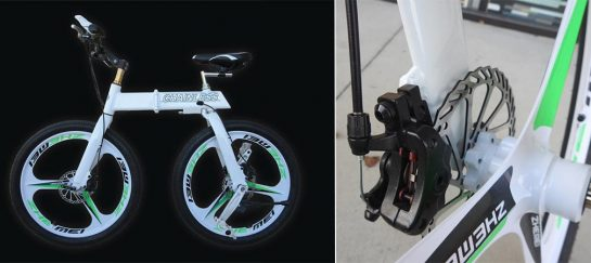 Chainless | Tungsten Powered Bicycle