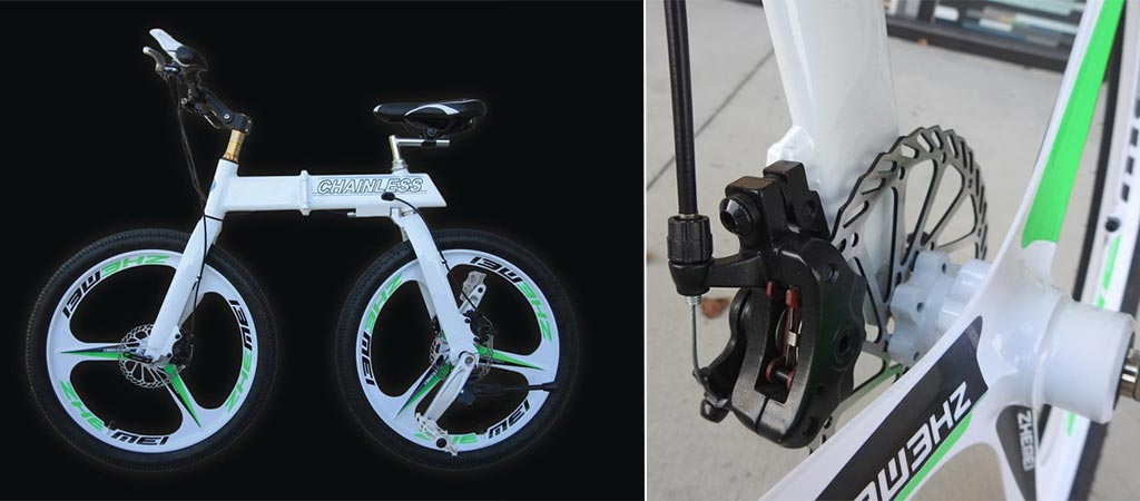 Chainless | Worlds First Tungsten Powered Bicycle