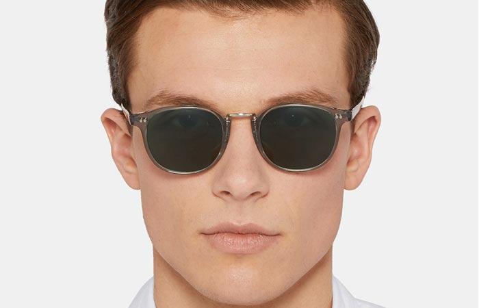 Man wearing the Cutler & Gross Sunglasses