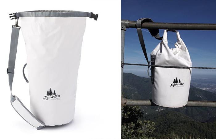 Two different views of the Dry Bag Cooler