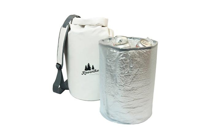 Dry Bag Cooler with cooler partition