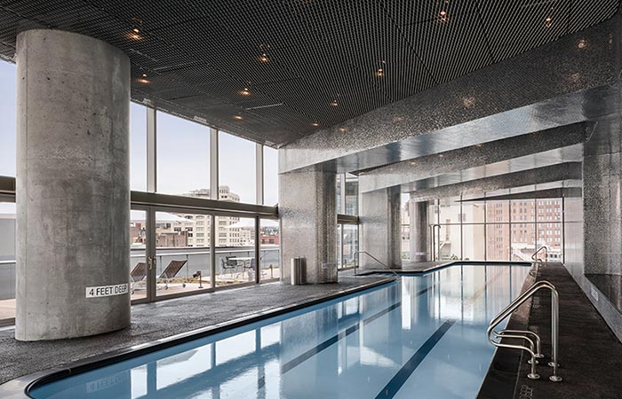 pool inside 56 Leonard