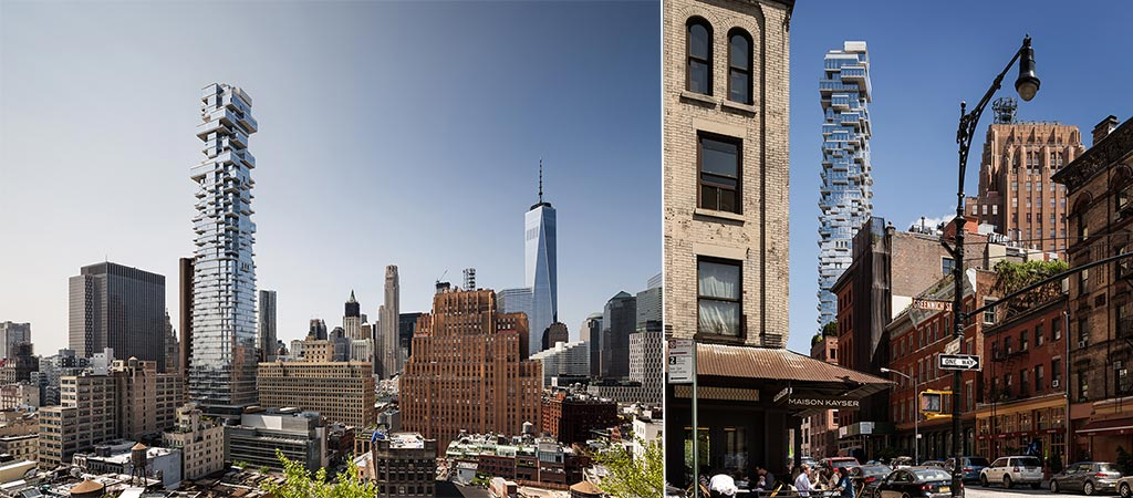 Herzog & De Meuron's 56 Leonard | A New York Jenga Tower