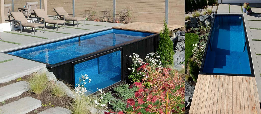 modpools shipping container pools jebiga design. Black Bedroom Furniture Sets. Home Design Ideas