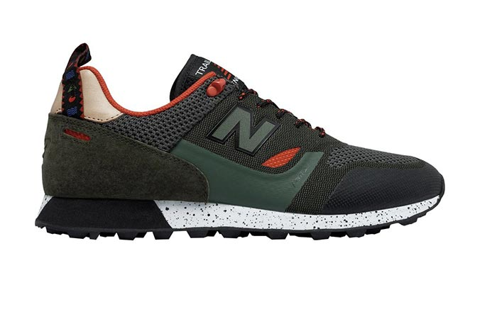 Side view of the New Balance Trailbuster