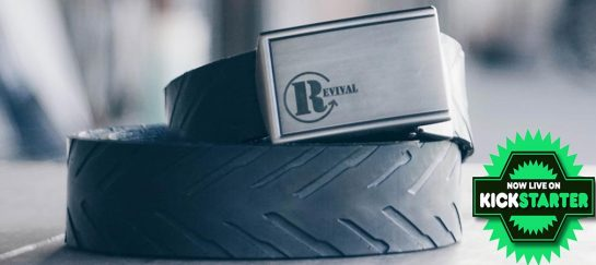 Revival Tire Belt | 100% Recycled Belt