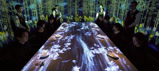 Teamlab Interactive Restaurant At Sagaya Ginza | Tokyo