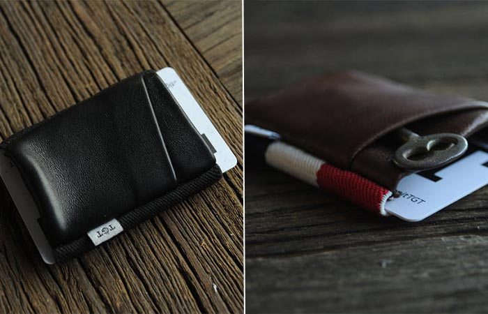 two images of wallets