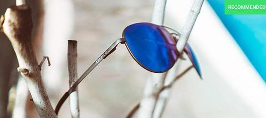 Titan   Titanium Aviator Sunglasses