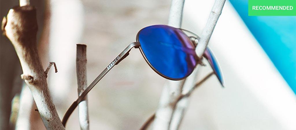 Titan with blue lenses