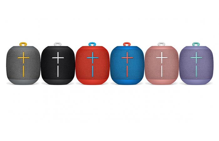 different colors of Wonderboom speaker