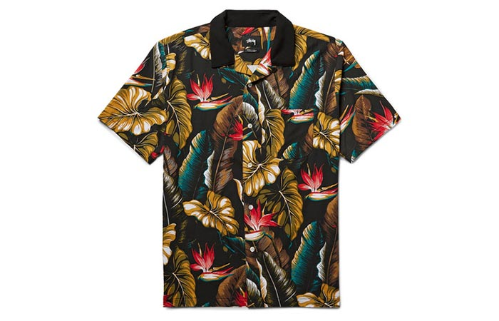 Stussy Camp-Collar Shirt