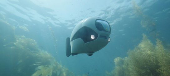 BIKI | The First Bionic Underwater Drone