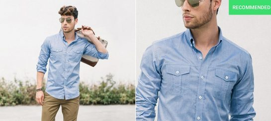 The Editor Utility Shirt From Batch