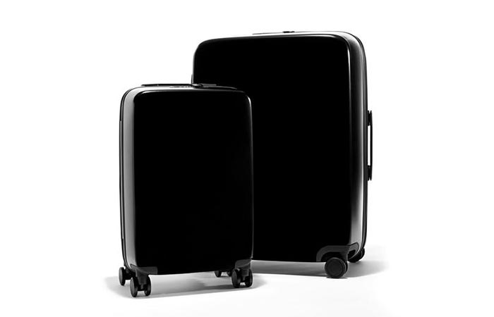 black set of The Raden Luggage