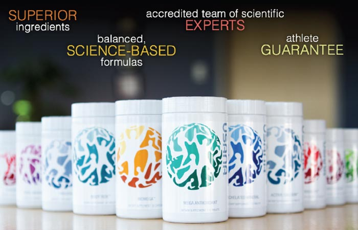 Usana Nutritional Essentials Supported By Athletes For