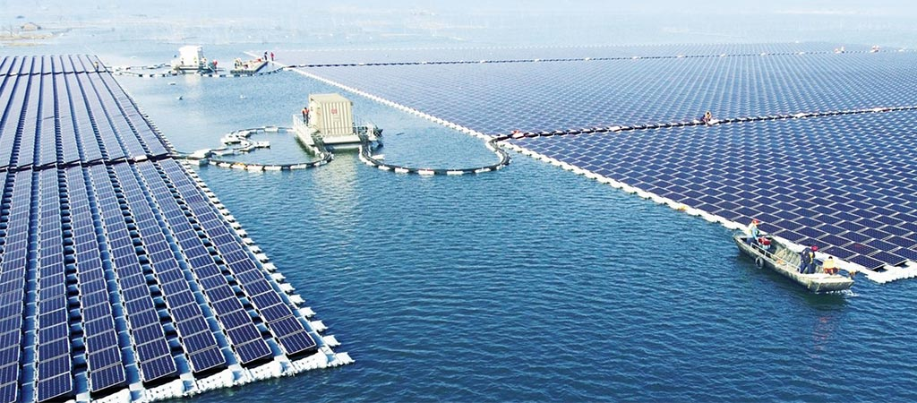 World's Largest Floating Solar Power Plant In China Just Started Working