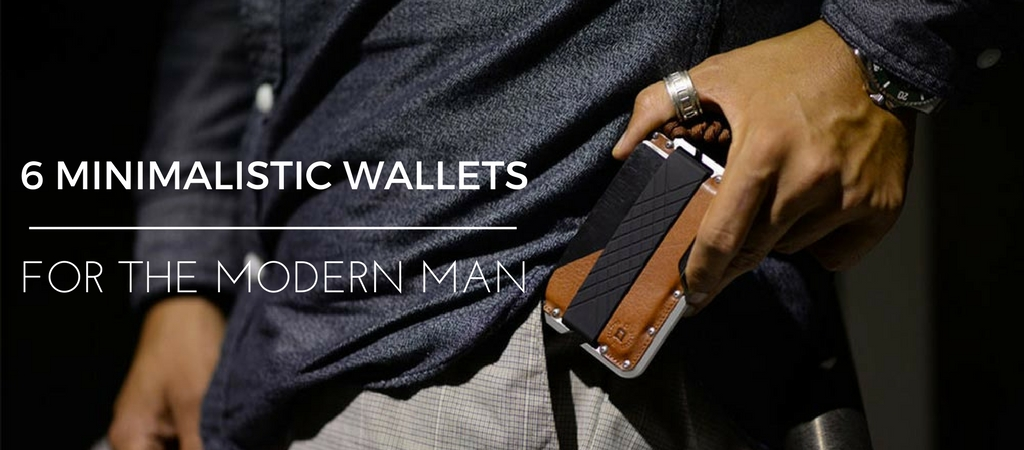 6 Minimalistic Wallets For The Modern Man