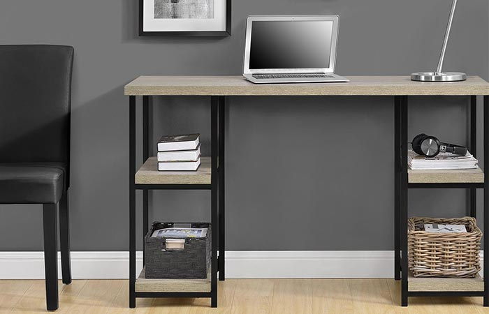 Comet Double Pedestal Writing Desk
