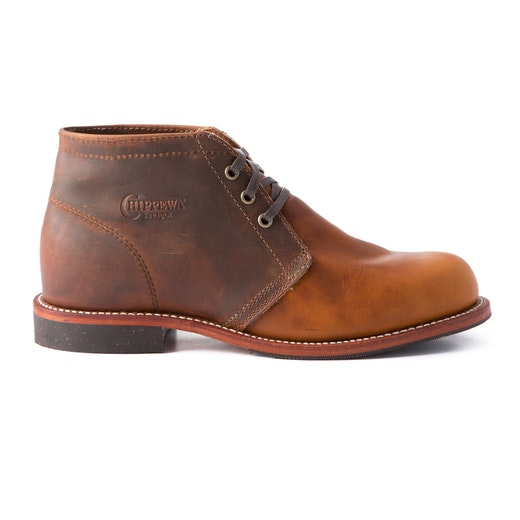 tan colored Original Chippewa boot from huckberry
