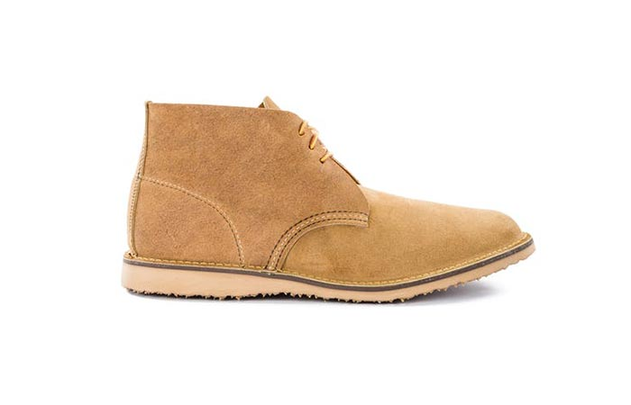 Hawthorne Muleskinner Red Wing Heritage Weekender Chukka Boot from Huckberry
