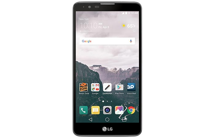 LG Stylo 2 Boost smartphone