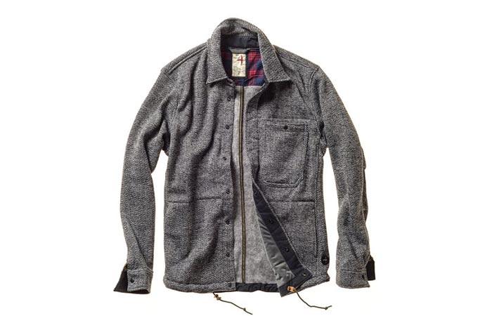 Relwen Tweed Snap CPO Jacket