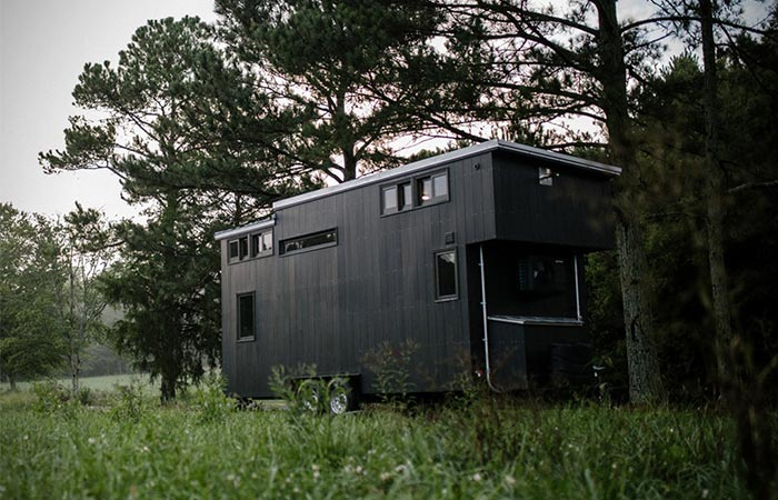 Rook Tiny House exterior