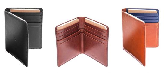 Leather Passport Wallet | By Danny P