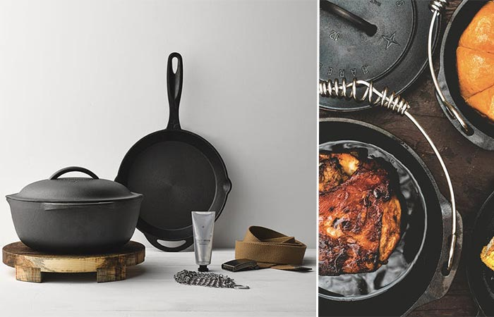 "Barebones Kitchen 10"" Cast Iron Set"