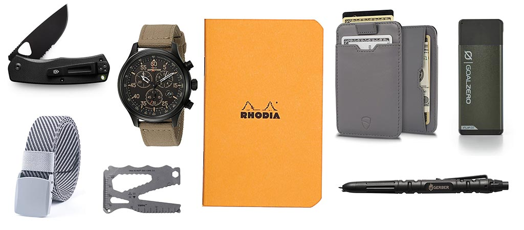 Christmas Gift Guide | 8 EDC Essentials